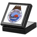 USS HAMNER Keepsake Box
