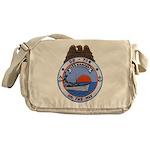 USS HAMNER Messenger Bag