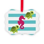 Sea Turtles Seahorse Ornament
