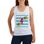 Sea Turtles Seahorse Tank Top