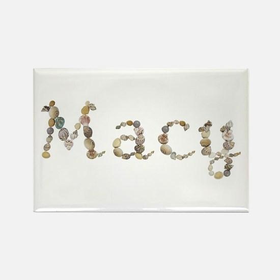 Macy Seashells Rectangle Magnet