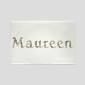 Maureen Seashells Rectangle Magnet