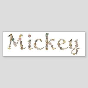 Mickey Seashells Bumper Sticker