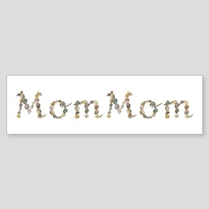 Mommom Seashells Bumper Sticker