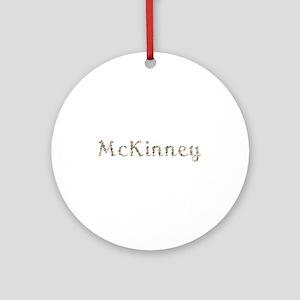 Mckinney Seashells Round Ornament
