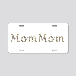 Mommom Seashells Aluminum License Plate