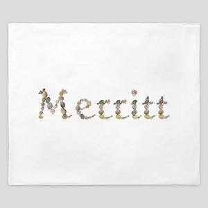 Merritt Seashells King Duvet