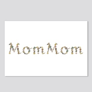 Mommom Seashells Postcards 8 Pack