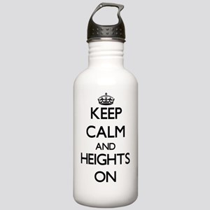 Keep Calm and Heights Stainless Water Bottle 1.0L