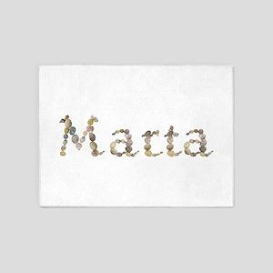 Marta Seashells 5'x7' Area Rug