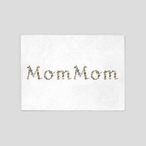 Mommom Seashells 5'x7' Area Rug