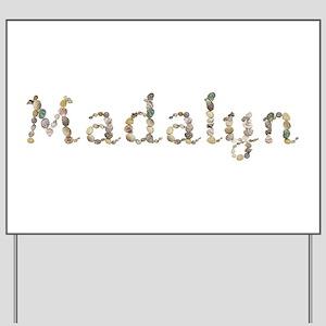 Madalyn Seashells Yard Sign