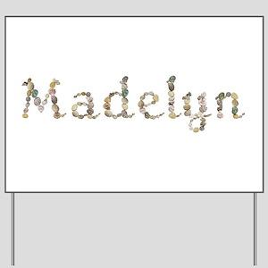 Madelyn Seashells Yard Sign