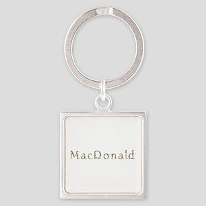 Macdonald Seashells Square Keychain