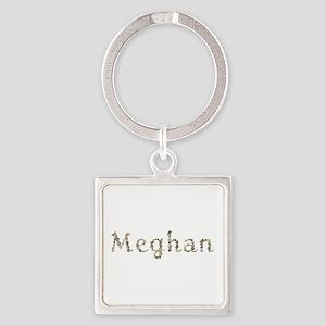 Meghan Seashells Square Keychain