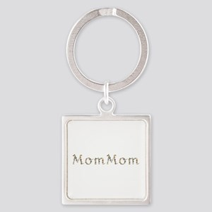 Mommom Seashells Square Keychain