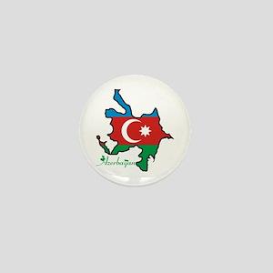 Cool Azerbaijan Mini Button