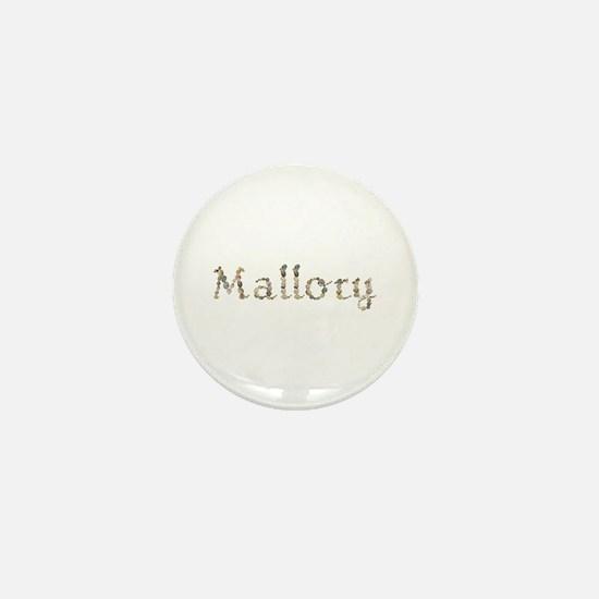 Mallory Seashells Mini Button