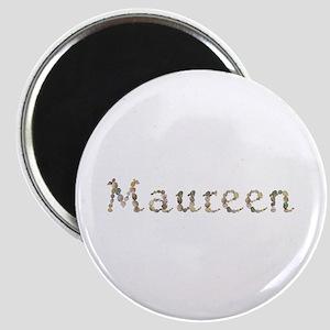 Maureen Seashells Round Magnet