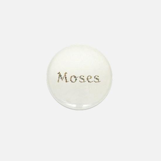 Moses Seashells Mini Button