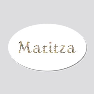 Maritza Seashells 20x12 Oval Wall Decal