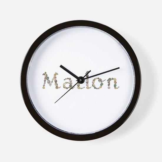 Marlon Seashells Wall Clock