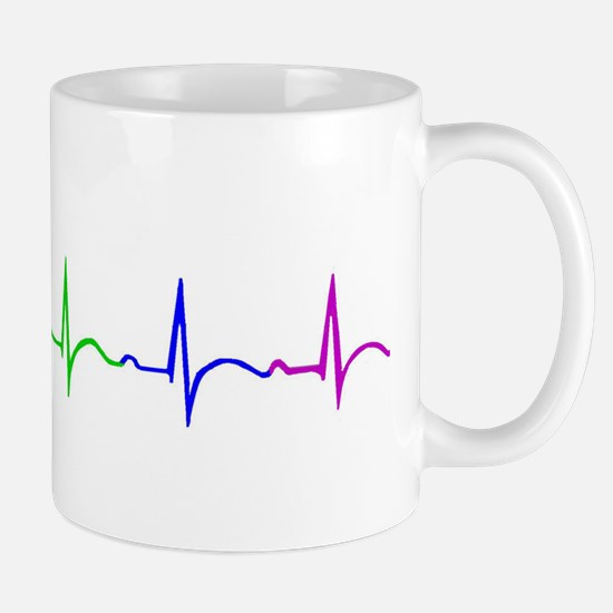ekg cut no words Mugs