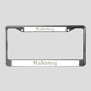Mahoney Seashells License Plate Frame