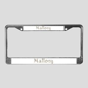Mallory Seashells License Plate Frame