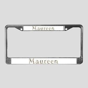 Maureen Seashells License Plate Frame