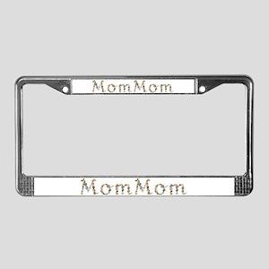 Mommom Seashells License Plate Frame