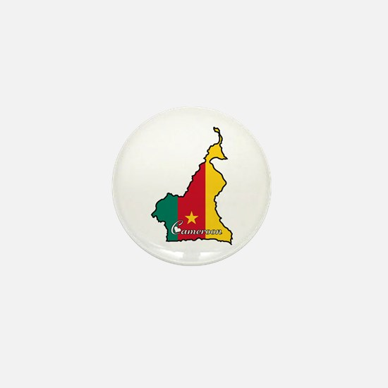 Cool Cameroon Mini Button