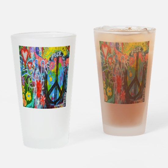 The Sixties Drinking Glass