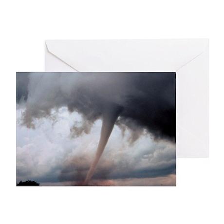 Tornado Fury Greeting Card