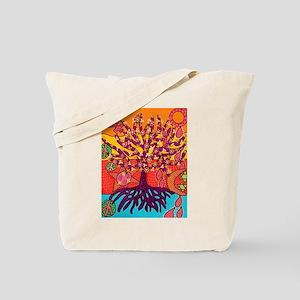 Tree Of Life Peace & Sorrow - Tree of Lif Tote Bag
