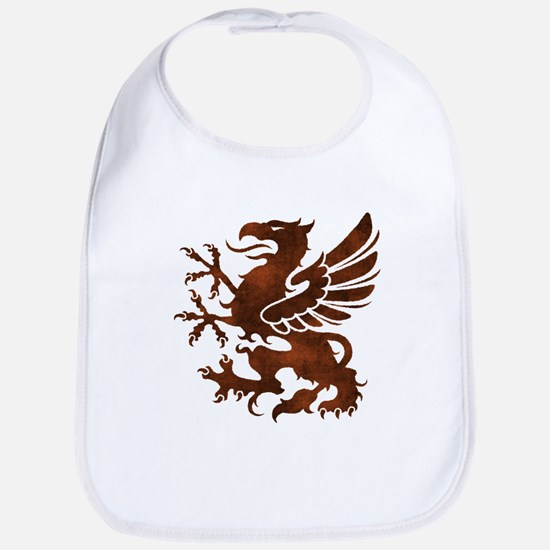 Brown Gryphon Bib
