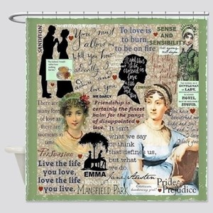 Austen Shower Curtain