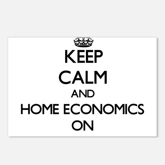 Keep Calm and Home Econom Postcards (Package of 8)