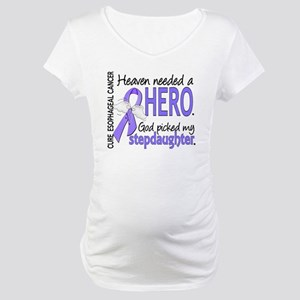 Esophageal Cancer HeavenNeededHe Maternity T-Shirt