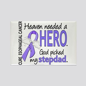 Esophageal Cancer HeavenNeededHer Rectangle Magnet