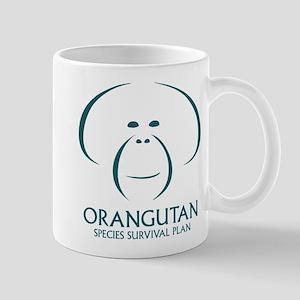 Orangutan Ssp Logo Mugs (teal Logo)