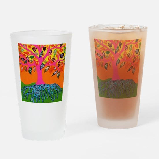 The Root of Knowledge - Tree of Lif Drinking Glass