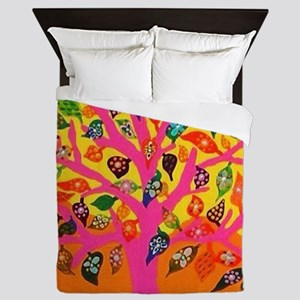 The Root of Knowledge - Tree of Life - Queen Duvet
