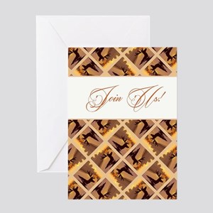 JOIN US! Greeting Card