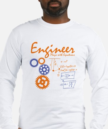 Engineer tshirt Long Sleeve T-Shirt