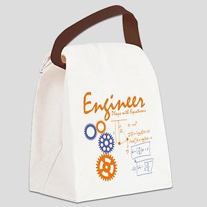 Engineer tshirt Canvas Lunch Bag