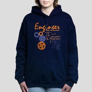 Engineer tshirt Women's Hooded Sweatshirt
