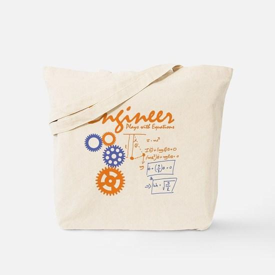 Engineer tshirt Tote Bag