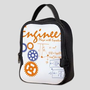 Engineer tshirt Neoprene Lunch Bag