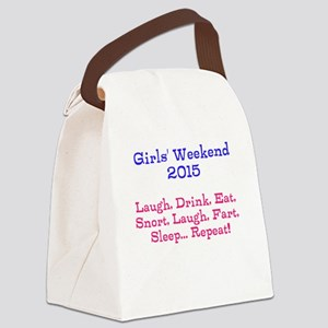 Girls' Weekend 2015 Canvas Lunch Bag
